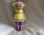 "Crochet Outfit For 10"" Ann Estelle Doll"