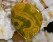 Ocean Jasper 23.2x19.8x4.1mm Natural Gemstone Cabochon Jewelry Supplies Ocean Jasper