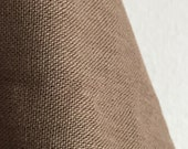 Organic Solid Fabric in Peat from the Cirrus Solids Collection from Cloud9 Fabrics. - ONE FAT QUARTER Cut