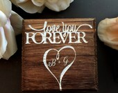 Ring Box, Wedding Ring Box, Personalized Ring Box, Ring Bearer, Bride and Groom, We Do