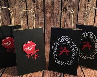 PLL/ Pretty little liars Favor bags/ goody bags