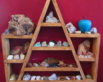 Custom Order For Ronda, Rock Shelf