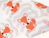 "1.5"" Foxes on Chevrons - Three, Five, or Ten Yards"