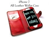 iPhone 7 Leather Wallet C...