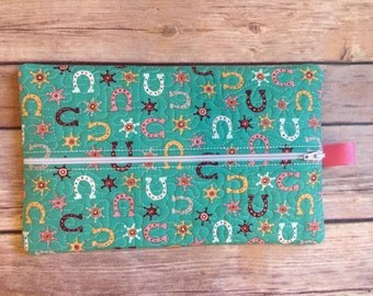 Cowgirl Baby Wipes Case
