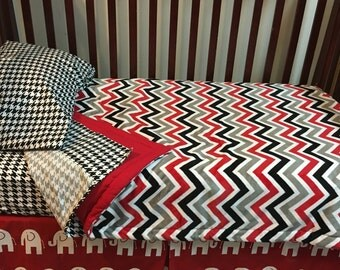 University of Alabama- Toddler Set with Bed Skirt - *Free Accent Pillow through Cyber Monday!! - Ready To Ship