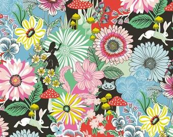 Blend Fabrics - Wonderland by Josephine Kimberling - Garden of Wonder Blue