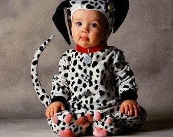 Dalmation puppy dog costume