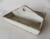 Early American Primitive Wooden Caddy