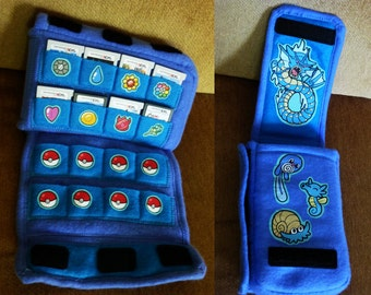 Case for DS/3DS/XL + 16 Games - One Size Fits All! Water Pokemon Version