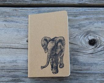 Mini Baby Elephant Gift  Journal