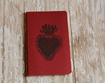Mini Sacred Heart Of Jesus Journal Pocket Pad