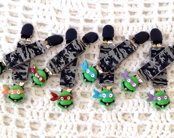 Mutant Ninja Turtle Mitten Clips.....Toddlers, Big Boys,