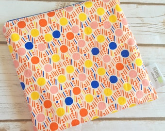 Reusable Snack Bag ~ Sandwich Size ~ Reusable Lunch Bag ~ Eco Friendly ~ Water Resistant ~ Zipper Pouch in Morning Walk