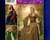 Simplicity 0501 Maid Marian Dresses Stepping Out in Sherwood Forest Sizes 10 to 18 UNCUT