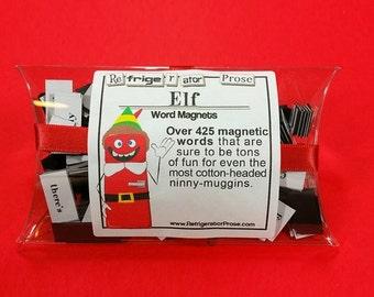 ON SALE Elf Refrigerator Magnetic Poetry