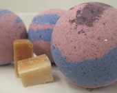 2 Guavaberry Goji Mom Bombs with wee organic soap inside