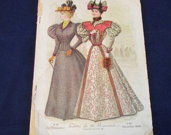December 1896 The Delineator Magazine