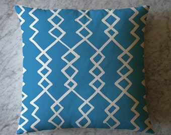 Pillow with Abstract Shapes. April 28, 2016