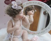 "New Listing Ashton Drake Collectible All Porcelain Doll ""Pretty As A Picture"" 1995"