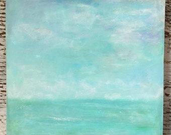 Beach Painting/Ocean Painting/Beach Art/Beach/Ocean/Water/Sea Painting/Sea Art/Abstract Ocean