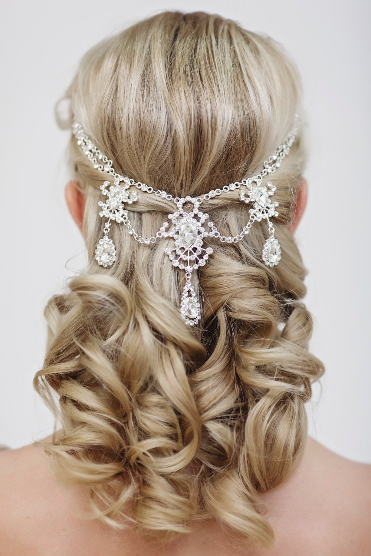 Wedding Crystal Hair Accessories Bridal Hair Jewelry Crystal