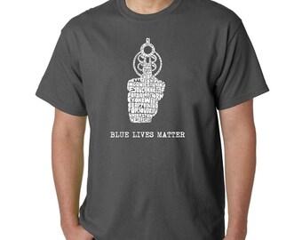 Men's T-shirt - Blue Lives Matter