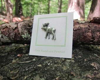 Moose Lapel Pin - CC131