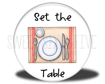 Set the Table - Chore Magnet