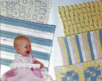 8 Hour Baby Blankets / Crochet Pattern / The Crochet Catalog 88Q3