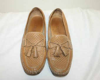Size 7.5,Leather Tassels Oxford,cole haan loafers,cole haan shoes,womens oxfords,womens oxford shoes,leather oxfords,leather shoes women