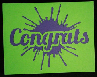 Fun Congrats Card
