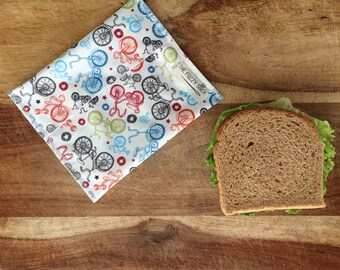 Reusable Sandwich Bag, Kids Sandwich Bag, Kids Reusable Lunch Bag