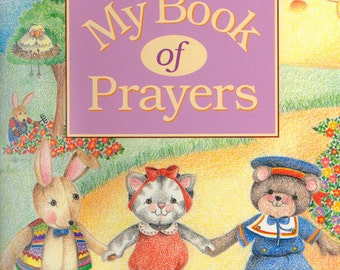 CHILDREN'S PERSONALIZED Book My Book of Prayers Catholic Version #602                              Printed and bound by us