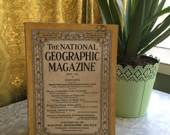 May 1931, Vintage Magazine, National Geographic, Vintage Photography, Vintage Photos