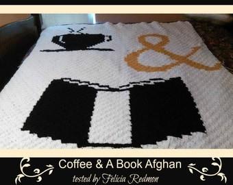 C2C Graph, Coffee C2C, C2C Graph,  Written Word Chart, coffee graph, coffee c2c, c2c afghan