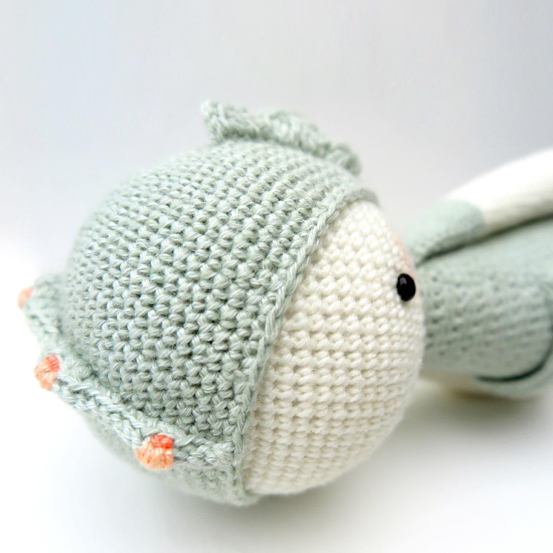 Amigurumi Hippocampe : SEPP lhippocampe lalylala patron au crochet / amigurumi