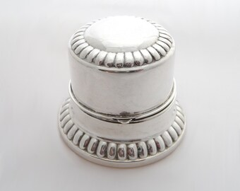 Vintage Birks Sterling Silver Ring Box Wedding Ring Box Holder