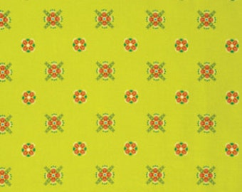 Fibs & Fables by Anna Maria Horner for Free Spirit - Cottage - Golden - 1/2 Yard Cotton Quilt Fabric 315