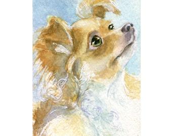 Watercolor Chihuahua, Chihuahua Print, Pup Print, Dog Print, Chihuahua Art