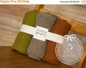 Cyber & Christmas Sale 3 Newborn Baby stretch wraps, Knit soft and stretchy, photography prop, newborn prop, stretch wrap