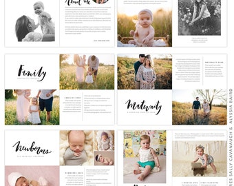 Studio Photography Digital Magazine - Stylish Photographer- Hand lettering design