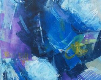 Original Abstract Pastel - 16106