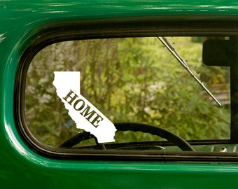 California Decal, Car Decal, State Sticker, Laptop Sticker, California Sticker, Bumper sticker, Vinyl Decal, Car Stickers