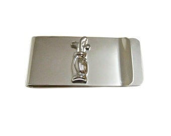 Golf Clubs Money Clip
