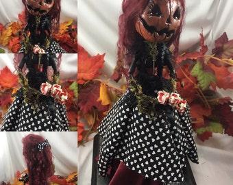 Darling MaryAnne ooak Pumpkin doll