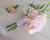 BOUQUET | Silk Wedding Bouquet, Custom Bridal Bouquet, Made to Order