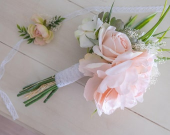 BOUQUET | Silk Wedding Bouquet, Custom Bridal Bouquet, Made to Order