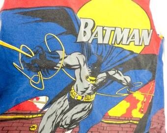 ON SALE 50% OFF Large Batman Bag,  Same Design on Front and Back