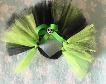 Green and Black Hedgehog Tutu